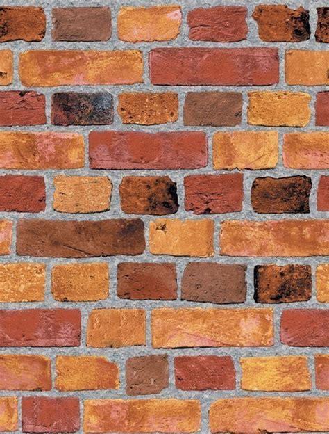 decorative brick wallpaper sf084791 faux brick wallpaper contemporary wallpaper