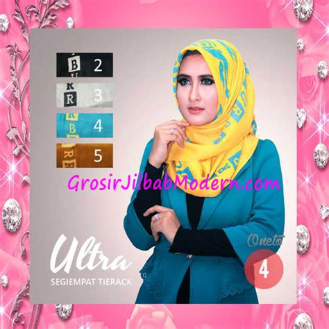 Jilbab Segi Empat Oneto jilbab segi empat trendy tierack ultra seri 4 grosir jilbab modern jilbab cantik jilbab syari