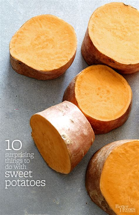 10 suprising things to do with sweet potatoes