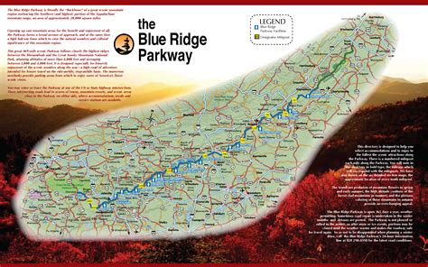 map of blue ridge parkway blue ridge parkway find your chesapeake