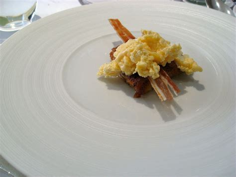 fum馥 liquide cuisine facefood vid 201 o azote liquide et glace aux œufs au lard