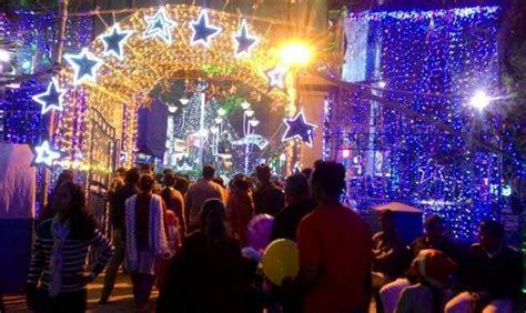 images of christmas in kolkata kolkata security increased for christmas celebration
