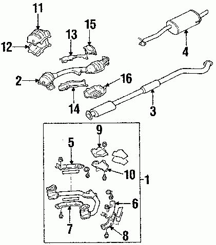 subaru forester exhaust system diagram 2006 subaru forester exhaust system diagram