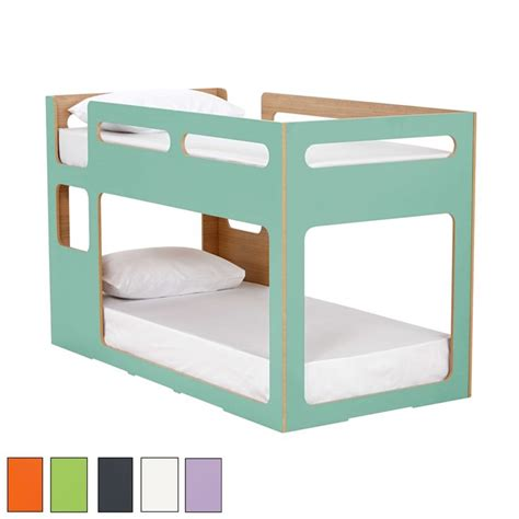 low bunk beds for kids my place bunk exclusive to domayne in two hot new colours