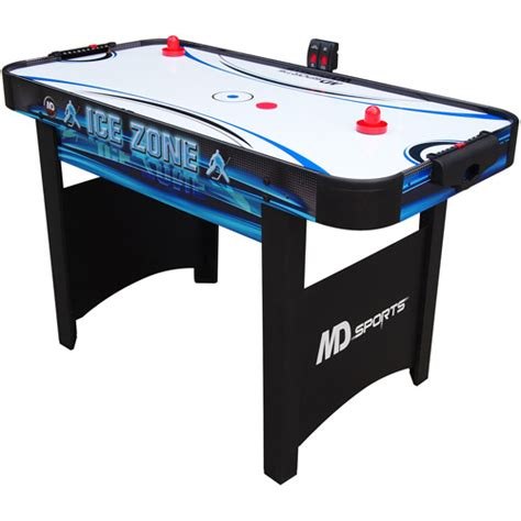 table hockey md sports 48 quot zone air powered hockey table walmart
