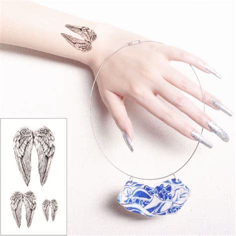 compare prices on small angel tattoo online shopping buy