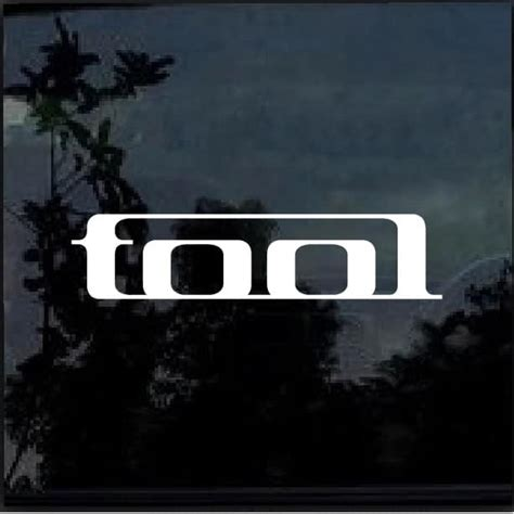 Tool Band Stickers tool band decal sticker custom sticker shop