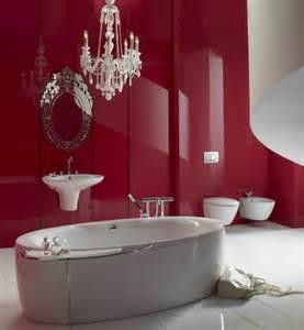 badezimmer rot gestaltung mit farbe wann sollte rot im badezimmer