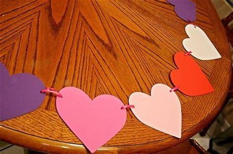 imagenes de corazones en foami como hacer una guirnalda de corazones con foami todo