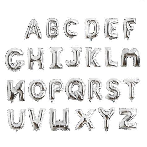 Hochzeit 6 Buchstaben by 10 Zoll Alphabet Helium Aluminiumfolie Ballon Buchstaben