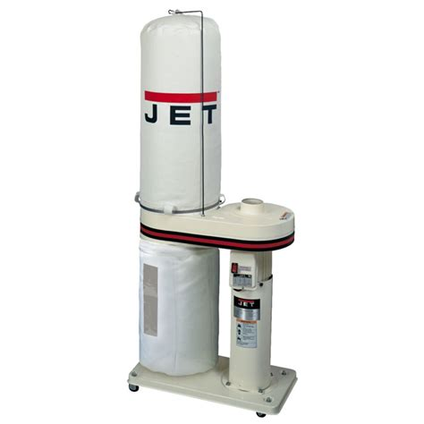 Jet 708642bk Dc 650 1hp Cfm Dust Collector With