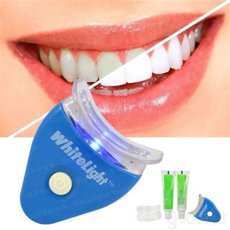 bright white smile teeth whitening light white light teeth whitening system