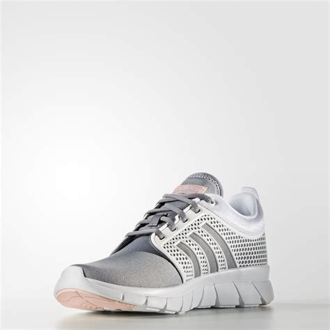Adidas Neo Groove Pink Original adidas cloudfoam groove womens shoes grey white vapour