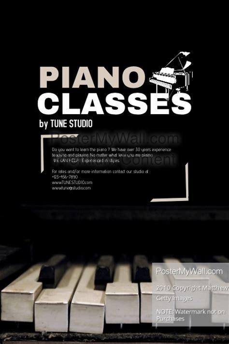 Music Recital Program Template Senior Recital Planning Piano Recital Poster Template