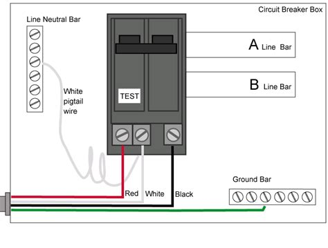 ground fault circuit breaker wiring diagram efcaviation