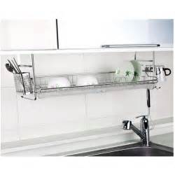 Kitchen Sink Dish Drying Racks New Stainless Fixing Dish Drying Rack Single Shelf Sink Kitchen Organizer Ebay