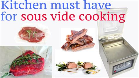 sous vide create your culinary masterpieces using this modern technology books vacuum sealer sous vide cooking must sous vide sealer