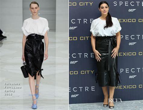 monica bellucci ingrassata monica bellucci red carpet fashion awards