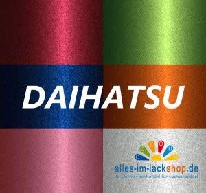 Lackieren Mit Spraydose Metallic by Daihatsu Farbton Nach Farbcode Metallic Basislack Autolack
