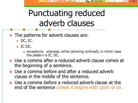 sentence pattern adverb expanding the sentence ppt download