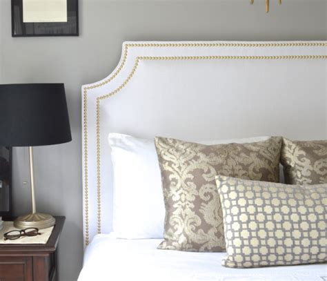 Gold Fabric Headboard Upholstered Headboard King Size Belgrave