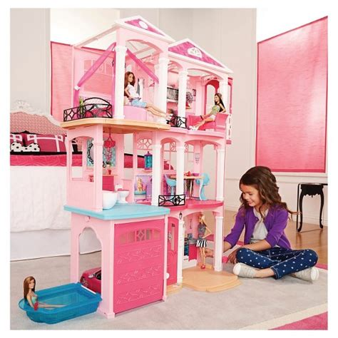 biggest barbie doll house barbie 174 dream house target