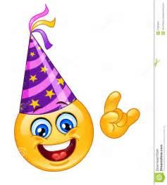 party emoticon stockfotos bild 21663643