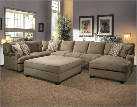large sectional sofa with ottoman best 25 u shaped sectional ideas on u shaped