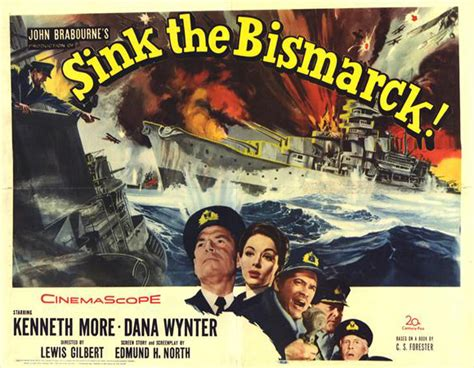 Sink The Bismarck Buy by Kenneth More Sink The Bismarck Reproduction Poster