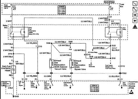 1999 chevy cavalier fuel injector electrical diagram