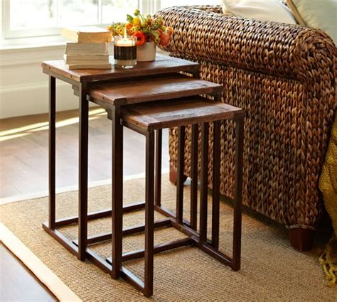 granger nesting side tables pottery barn