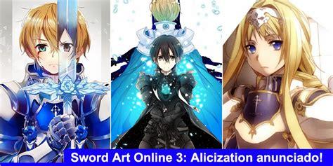 Ordinal Attack 04 terceira temporada de sword anunciado para o