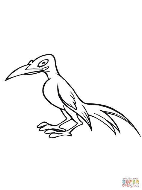 magpie bird coloring page caricature magpie bird coloring page supercoloring com