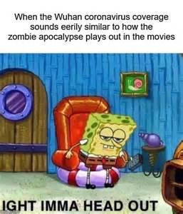 spongebob ight imma head  meme imgflip
