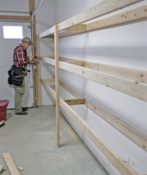 diy storage ana white build a easy and fast diy garage or basement