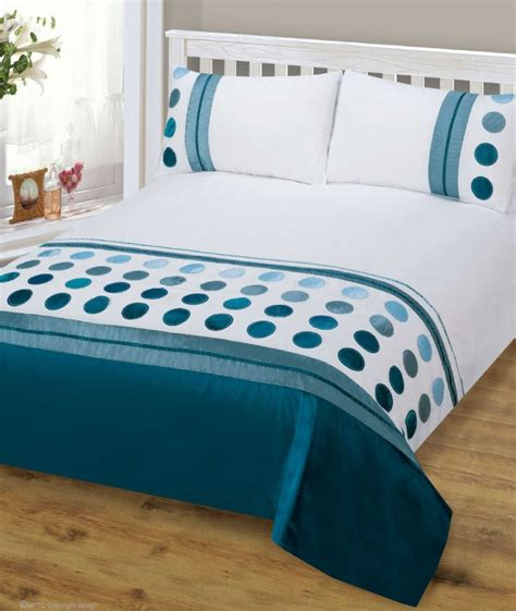 modern bed sheets teal blue mix colour stylish modern design bedding quality duvet quilt cover