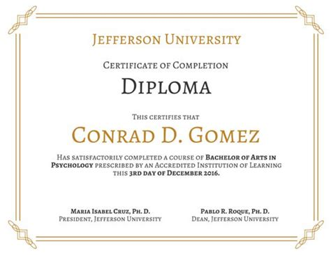 University Diploma Certificate Templates By Canva College Graduation Certificate Template