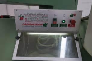 cabina sabbiatura usata sabbiatrice pallinatrice automatica lugnani lc2 usata