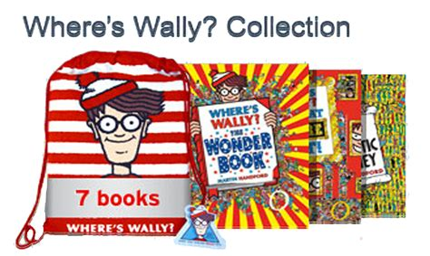 where s the books where s wally collection 7 book set in a bag ebay