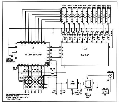 secret diagram circuit diagram of calculator