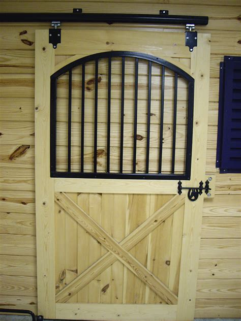 Custom Built Wooden Barn Doors Quality Amish Built Barn Stall Doors