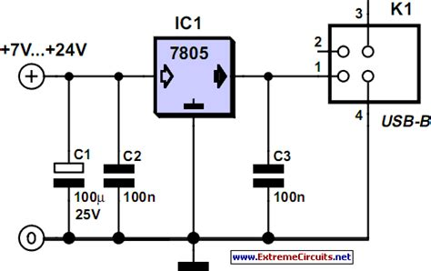 usb power wiring diagram usb circuit page 5 computer circuits next gr
