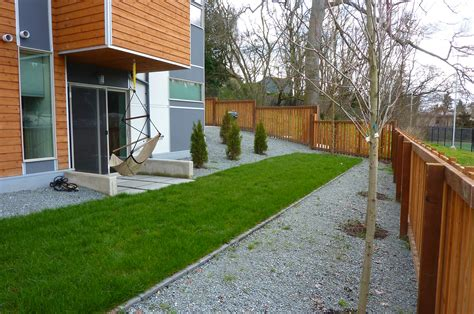 Gravel Lawn Gravel And Grass Landscaping Ideas Landscaping