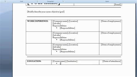 free resume templates page 2 cjrkxw com