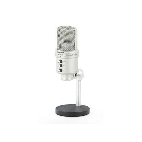 Mixer Audio Samson samson g track usb condenser microphone with audio