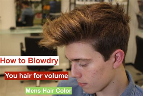 how to remove just for men hair color how to blowdry you hair for volume hair color for men