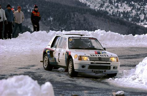 peugeot 205 rally peugeot 205 t16 rally car 1984 86
