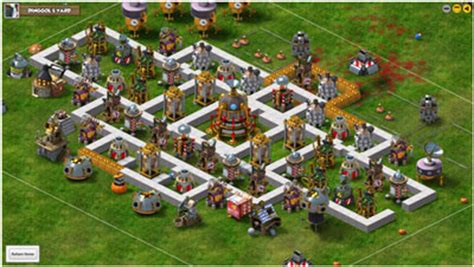 games like backyard monsters facebook backyard monsters tips hints defending the base facebook game hints