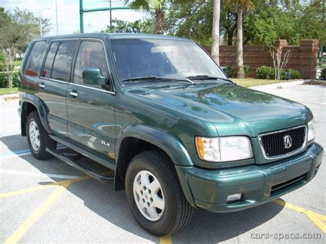 1999 acura slx suv specifications pictures prices