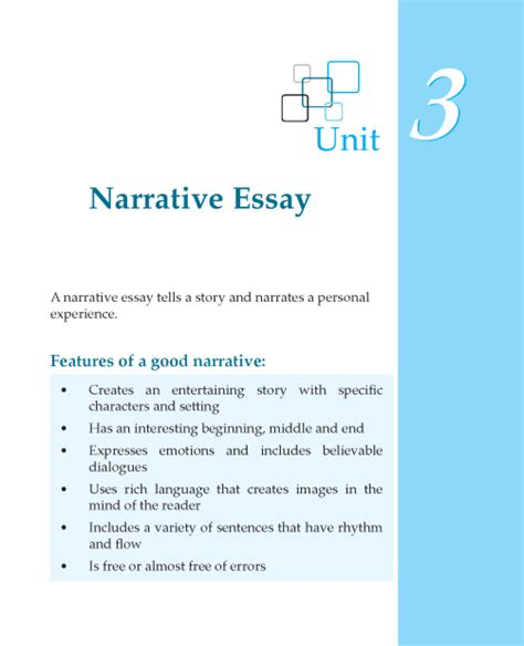 Essay Writing For Grade 1 by Grade 7 Narrative Essay Composition Writing Skill